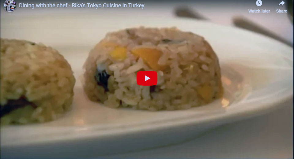 Dining With The Chef Rika S Tokyo Cuisine Ottoman Asitane Restaurant