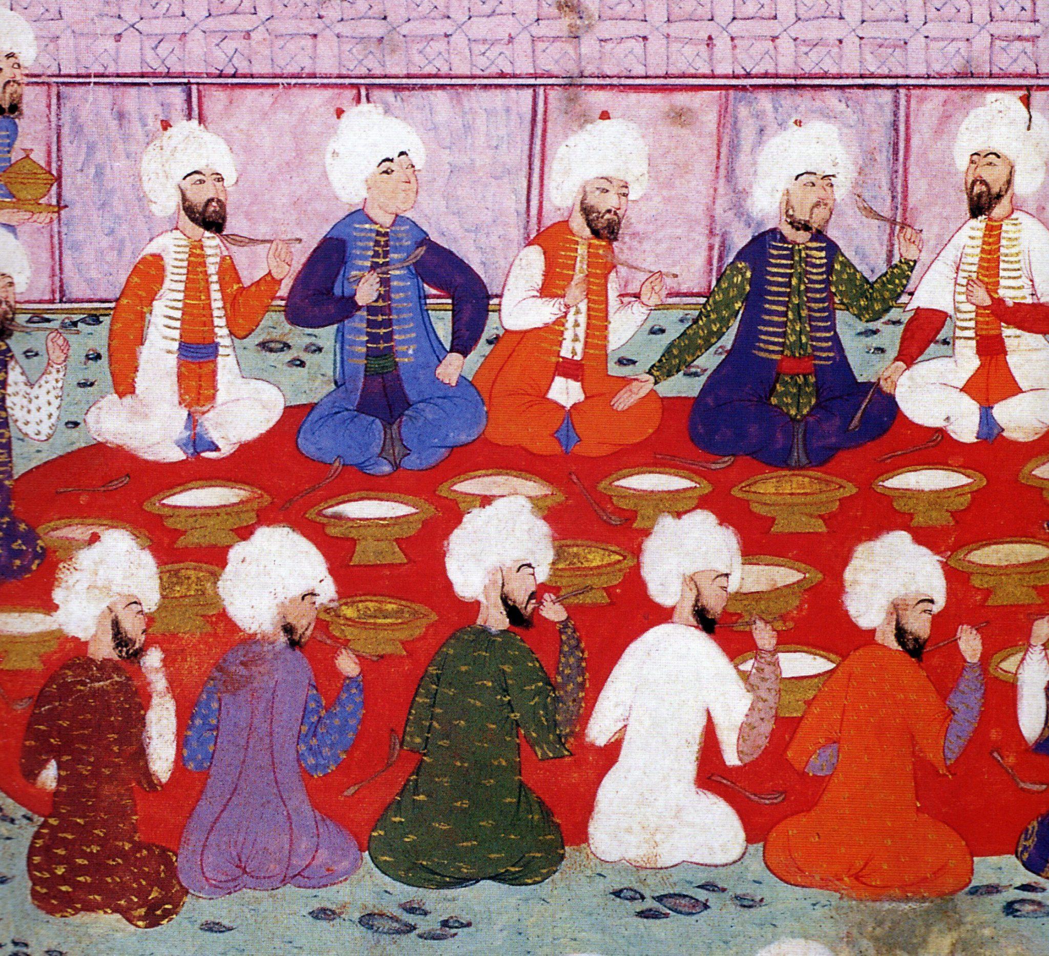 Ramazan Zadegan İftarı Osmanlı Saray Mutfağı