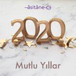 Mutlu yıllar. Hoş geldin 2020